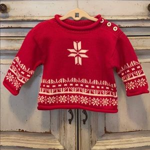 NWT 2/$20 Hanna Andersson Beautiful Baby Sweater